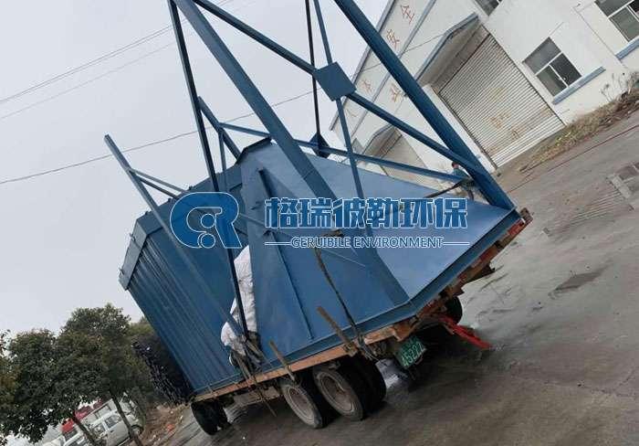 枣庄沃丰水泥厂发货脉冲除尘器设备