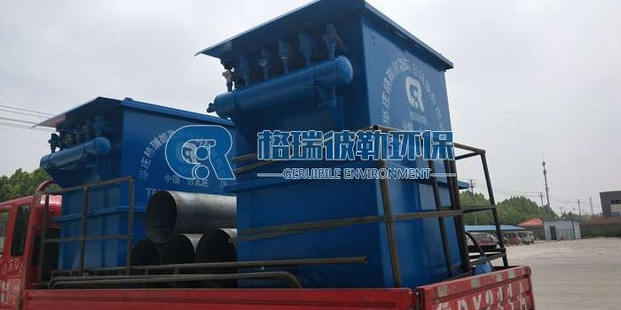 枣庄润昇水泥厂发货脉冲除尘器